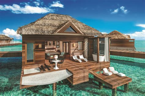 the water bungalows sandals paxnews sandals grande st lucian unveils the water