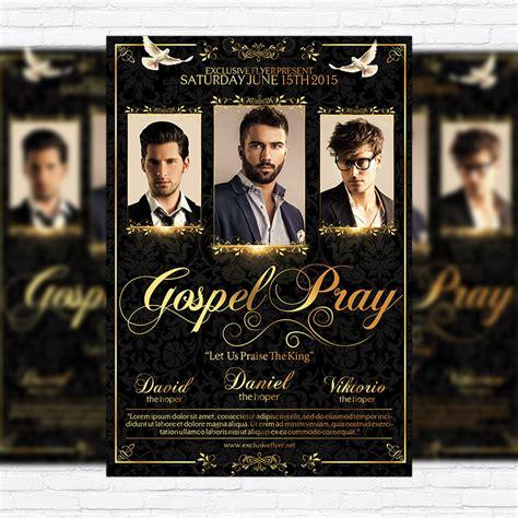 flyer template gospel gospel pray premium flyer template facebook cover