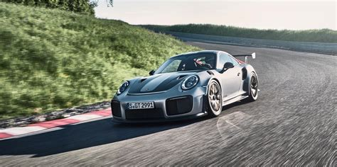porsche porsche 2018 porsche 911 gt2 rs is a street legal 700 hp animal