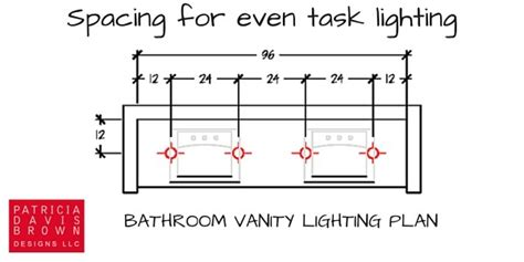 bathroom lighting plan how to light a vanity correctly a lighting design how to