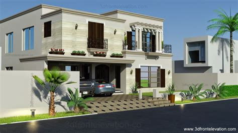 spanish house design 3d front elevation com 1 kanal spanish house design plan dha lahore pakistan