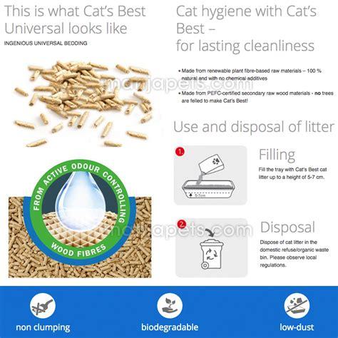 Universal Cat Food Tuna Repack cat s best universal litter 1kg repack for small animals