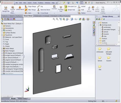 blueprint designer creating your own sheet metal forming tool video