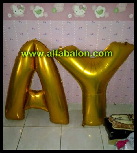 Balon Foil Balon Foil Quotsanta Bodyquot jual balon foil huruf alfa balon bekasi