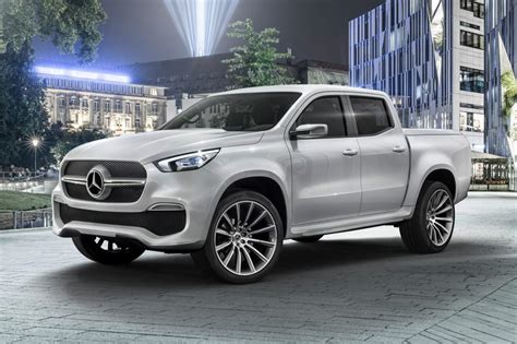 mercedes x class merc reveals posh up truck the