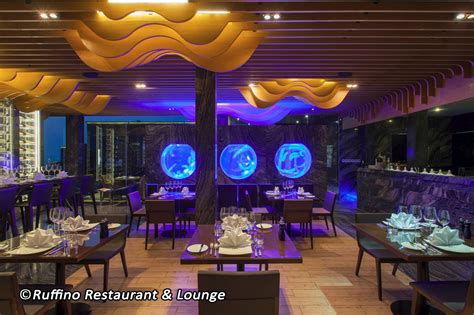 Ocean Decorations Ruffino Rooftop Restaurant Amp Lounge Pattaya A Five Star
