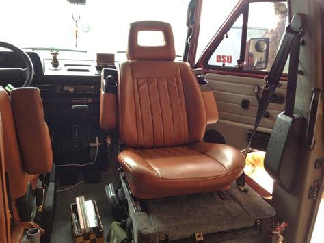 vanagon upholstery reupholstered vanagon seats vanagon hacks mods