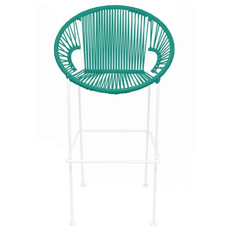 district17 counter height stool turquoise weave