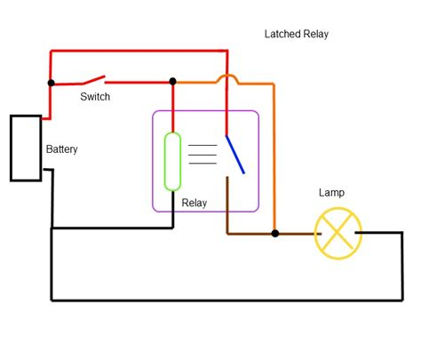 diagrams 600476 latching relay wiring diagram how to