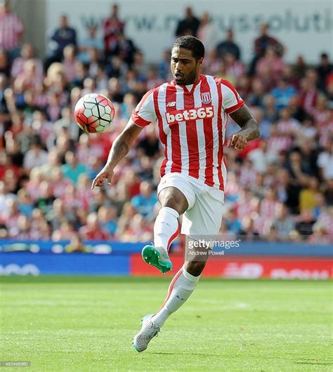 premier league match between stoke city and southton at britannia glen johnson of stoke city in action during the barclays