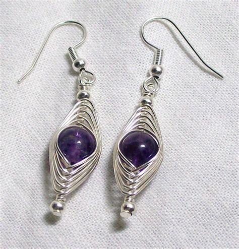 jewelry wire wrapping blue creations amethyst wire wrap jewelry set