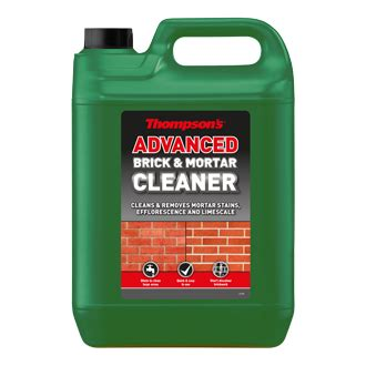 advanced brick mortar cleaner thompsons weatherpoofing