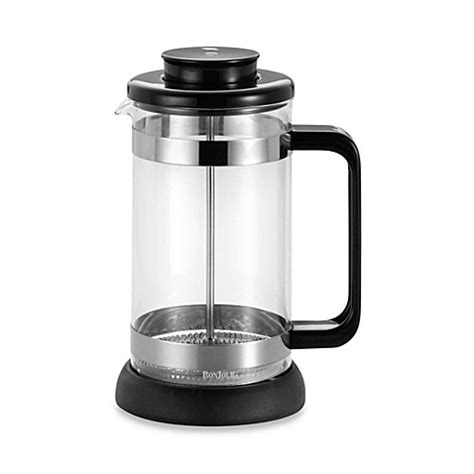 bed bath and beyond french press bonjour 174 riviera 8 cup french press with coaster and