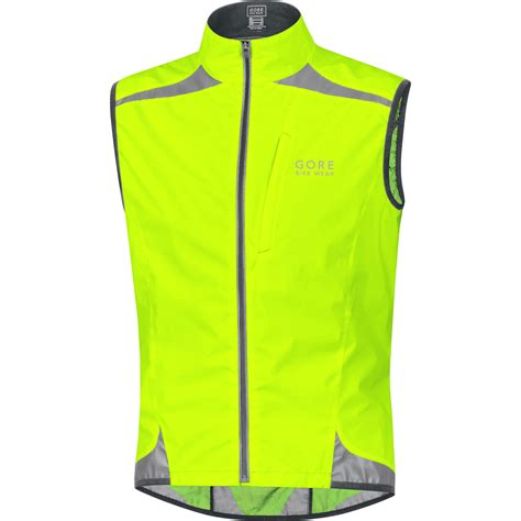 cycling shell wiggle gore bike wear visibility active shell vest