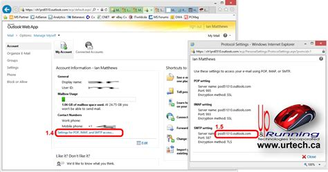 Office 365 Mail Host Name Solved How To Setup An Android 4 Samsung S3 To Use Office