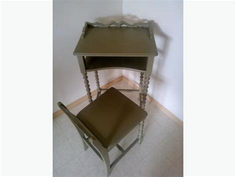 Antique Phone Chair by Antique Telephone Table With Attached Chair Antique