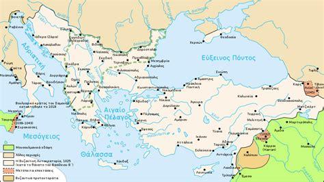 byzantine empire map file map byzantine empire 1025 el svg wikimedia commons