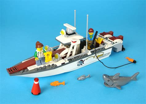 lego city fishing boat review 60147 fishing boat brickset lego set guide and