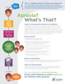 raise apraxia awareness casana distributing packets of