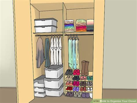 Top 5 Items To Keep In Your Closet For 08 by How To Organize Your Closet 13 Steps With Pictures