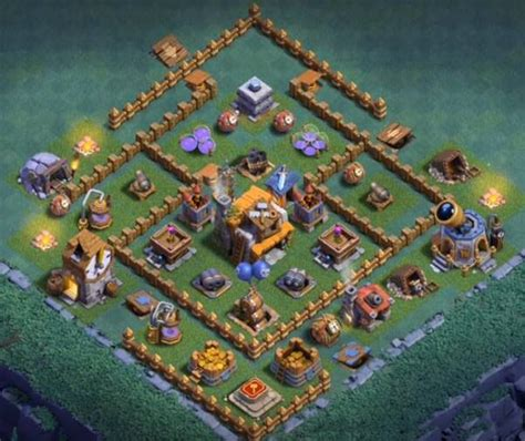layout building clash of clans cash of clans top 15 best builder hall level 5 bases bh5