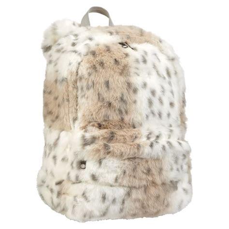 snow leopard faux fur comforter faux fur snow leopard backpack pbteen