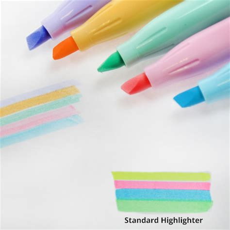 Pilot Frixion Light Soft Pastel Erasable Highlighter Pastel Lights