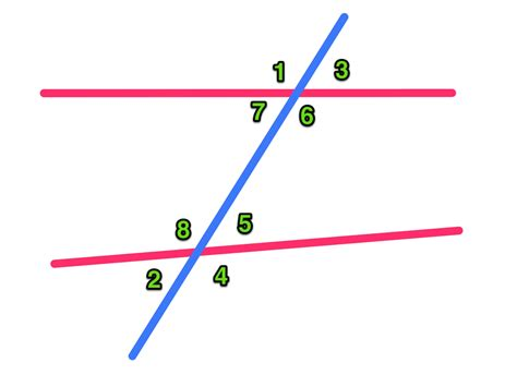 Interior Angles In Real by Exles Of Alternate Interior Angles In Real Www