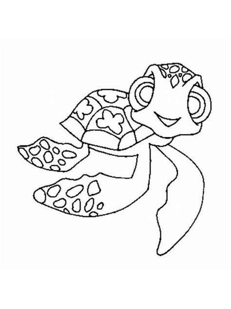 nemo squirt coloring pages crush and squirt coloring pages free printable crush and