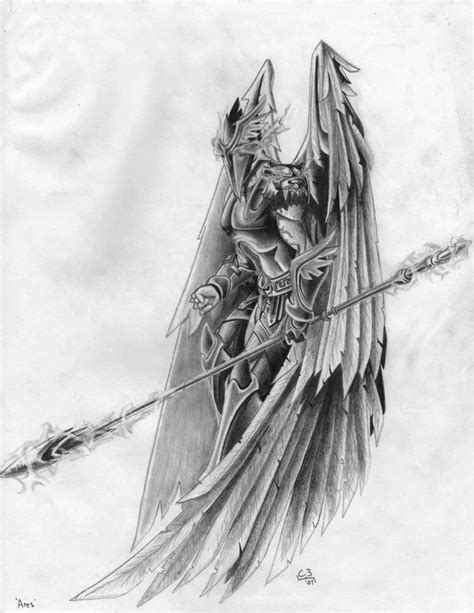 ares god of war tattoo ares by c3lticfury on deviantart