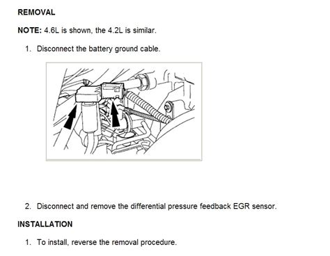 ford f150 egr valve symptoms ford 4 2 leaking intake symptoms autos post