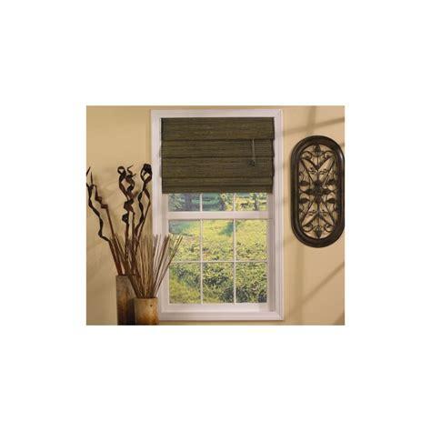 Green Tea Tahiti Bamboo Roman Shade   Curtain Drapery.com