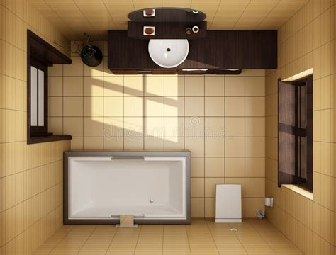 top view bathroom japanese style bathroom top view stock image image of