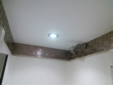 quot i installed smart tiles above the shower stall in the