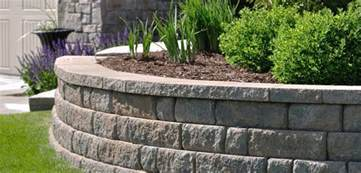 Unilock Retaining Wall Installation Remarkable Retaining Wall Ideas Improve The Beauty Of Your