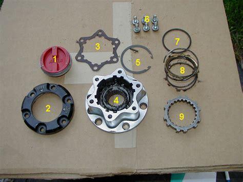 Toyota Manual Locking Hubs Servicing The Aisin Manual Hubs