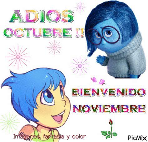imagenes de octubre noviembre imagenes fantasia y color adios octubre bienvenido