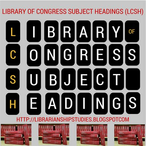 pattern headings library congress librarianship studies information technology november 2015