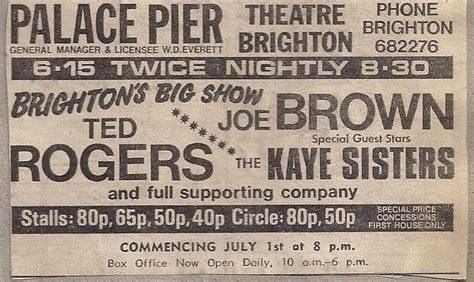 the palace pier and theatre brighton later brighton pier 17 best images about music theatre brighton hove on