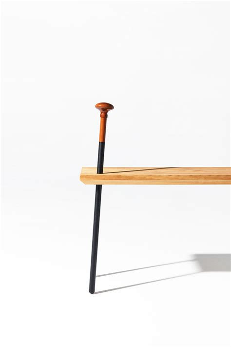 legs for a bench dozo benches with integrated wooden canes digsdigs