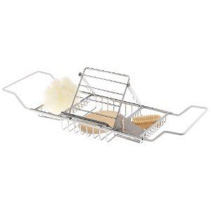 extra wide bathtub caddy amazon com jumbo bath caddy great for garden tub extra