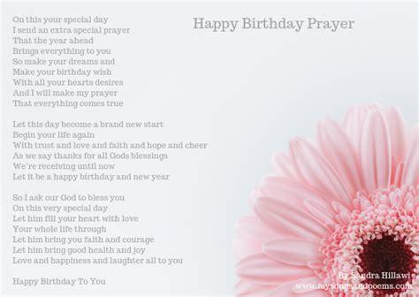 happy birthday prayer songs  poems  sandra hillawi