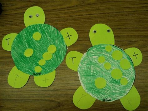 70 Best Images About Letter T On Turtle Crafts