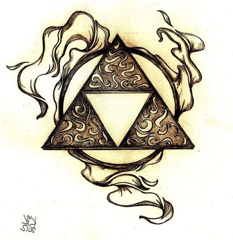 triforce by coppertops on deviantart