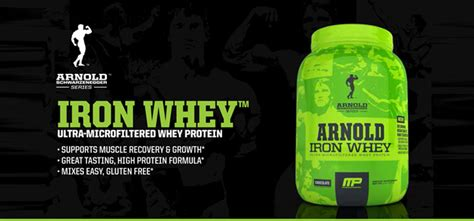 supplement critic arnold iron whey reviews supplementcritic