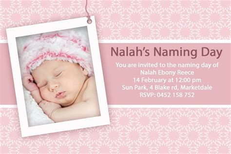 layout design for baptismal invitation baptism invitations for girl blank christening