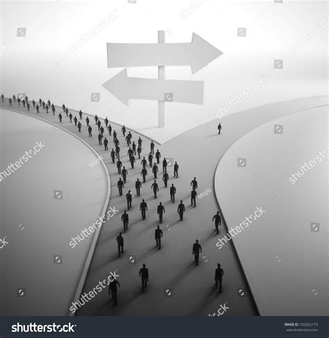 how to get more people on cross road on crossroads tiny people choosing their stock