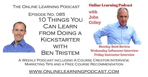 10 Things Can Learn From by 10 Things You Can Learn From Doing A Kickstarter With Ben