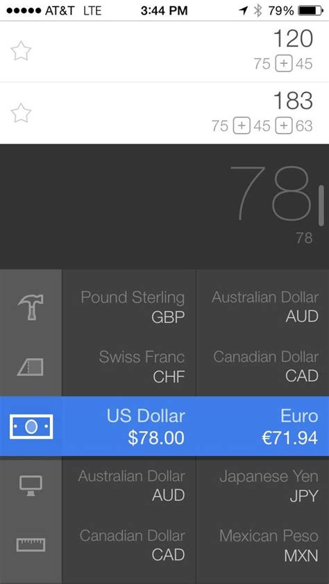 review calcbot calculator and unit converter iphone j d