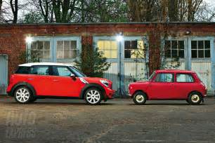 Original Mini Cooper The Countryman Vs The Original Mini Motoringfile